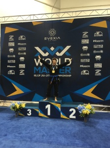 Ibjjf world masters 2015 queenie from Darwin BJJ