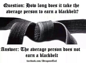 Black belt quote